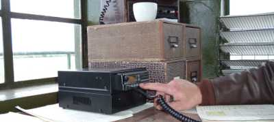 Panel Mount Aviation Radio