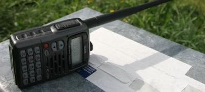 Handheld Amateur Radio (Ham)