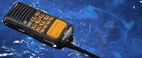 Handheld VHF Marine Radio
