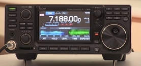 Reviewing the IC-7300 Software Defined Radio (SDR) HF Radio