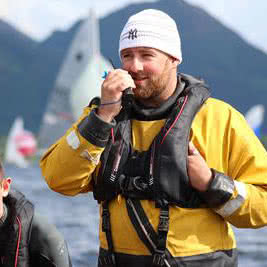 Icom Sponsor 'The One' Bassenthwaite Lake Sailing Week Safety Team