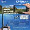 ID-51E PLUS D-STAR Digital Amateur Radio Handportable launches in the UK