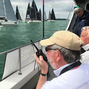 New Case Study & YouTube Video: Icom Supporting Cowes Week, the World's Biggest Sailing Regatta