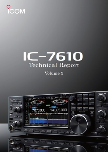 IC-7610 Technical Report (Volume 3)