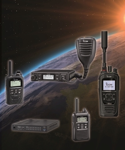 Icom LTE and Satellite Radio Solutions on Show at FCS Business Radio 2019