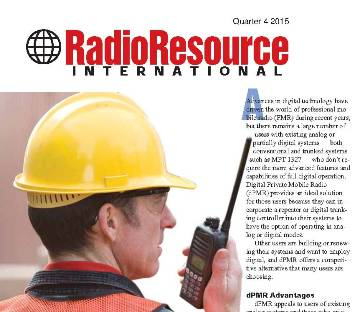 The case for dPMR, an article from Radio Resource International