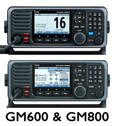 Icom GM600 & GM800 Class A GMDSS Marine Radio Products Launching at METS Marine Industry Trade Show