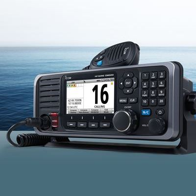 Icom GM600 Debuts at Skipper Expo Int. Aberdeen 2017