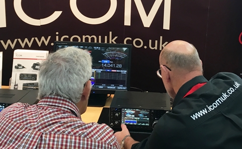 See Icom's Latest Amateur Radio & Receiver Range at National Hamfest 2018