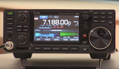 New Video: 'Reviewing the IC-7300'