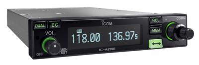 IC-A210E Ground to Air 8.33kHz Panel Mount Radio, Back in Stock!