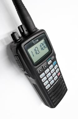 Icom 8.33kHz Airband Radios to take off at Flyer Live 2015