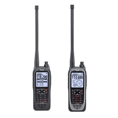 Changes to Icom UK's 8.33 kHz Airband Handheld Radio Range