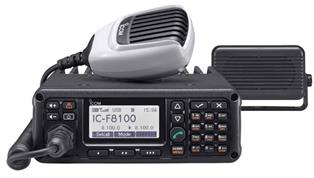 IC-F8100, HF Export Land Mobile Transceiver. Designed for Reliable Long Distance Communication