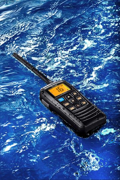 Icom IC-M37E to Launch at the Southampton Boatshow 2019