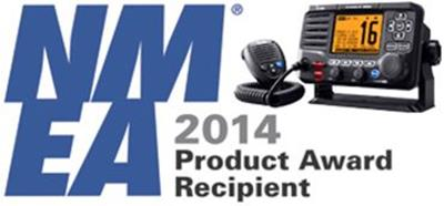 Icom's IC-M506 Fixed Mount VHF Wins Best Marine Radio at 2014 NMEA Show