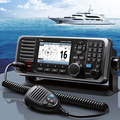 Icom IC-M605 Wins NMEA Award for Best Marine VHF Radio For the Second Year in a Row