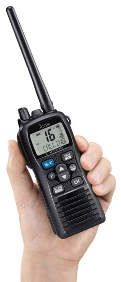 Icom adds IC-M73EURO to their Series of Professional Grade Marine VHF Transceivers!