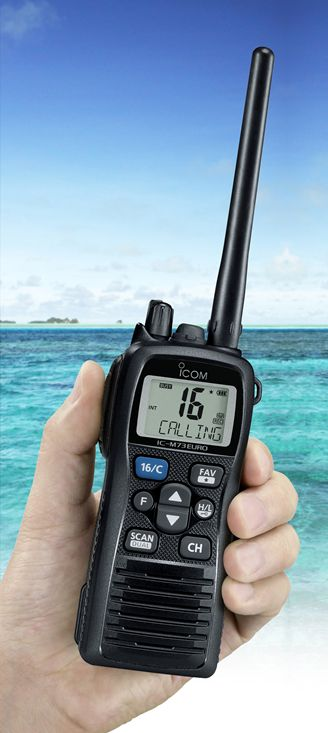 IC-M73EURO, Setting a New Standard in Marine Handheld Electronics