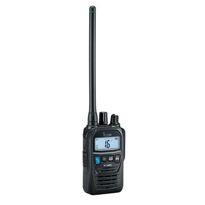 IC-M85E Compact VHF Marine Radio with Serious Business Features