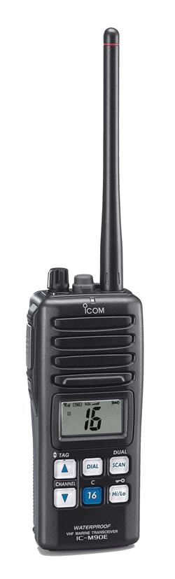 Icom's IC-M90E Is Ready For Duty… Heavy Duty!