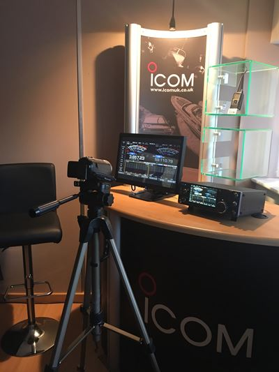 First Impressions Videos of the Icom IC-7610 and IC-R8600