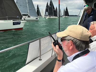 ICOM UK, Official Supplier of Radio Communication Equipment to Cowes Week