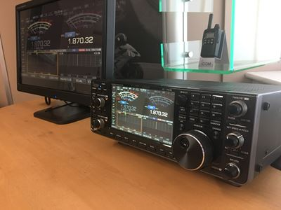 Icom IC-7610 & IC-R8600 to be Shown at National Hamfest 2017