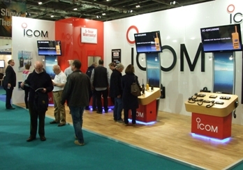 Latest Marine Radios and Great Offers from Icom at London Boatshow 2016