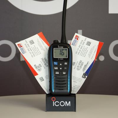 Claim 2 Tickets for The London Boat Show With Any Icom Marine Radio Purchase!
