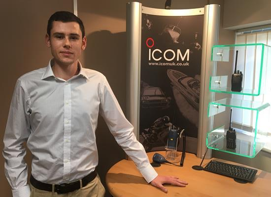 Matt Richards joins Icom UK as Commercial Sales Executive