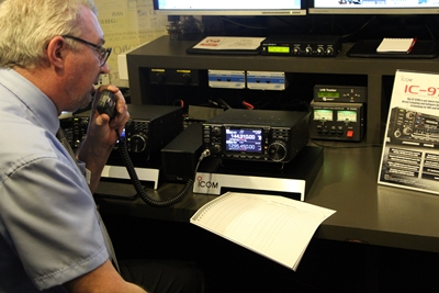 IC-9700 VHF/UHF/23CM SDR Transceiver Previewed at the National Radio