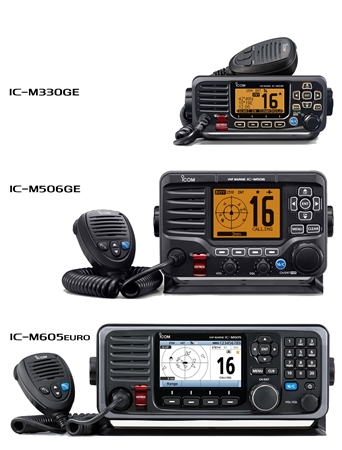 Changes to Icom UK's Range of Marine fixed VHF/DSC Radios