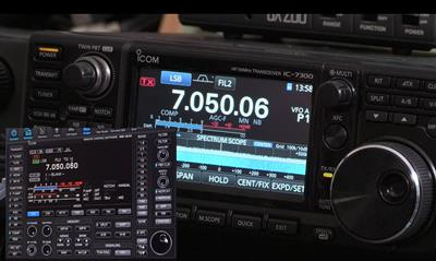 New Video: Icom RS-BA1. Installing & Setting up Remote Control for your IC-7300