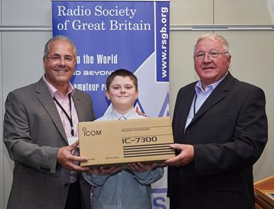 Youngest Licenced Amateur Rewarded at RSGB Convention