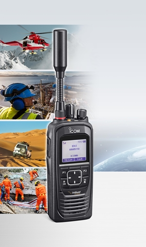 Icom IC-SAT100 PTT Satellite Radio, Available Now!