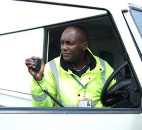 Icom UK Exhibits New Two Way Radio Products at Transport Security 2012