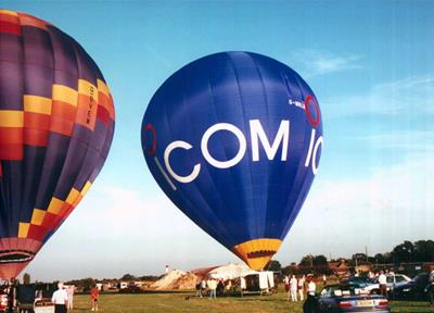 Win a trip in the 'Icom Balloon'