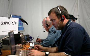 Success for Worthing & District Amateur Radio Club at SSB Field Day 2013