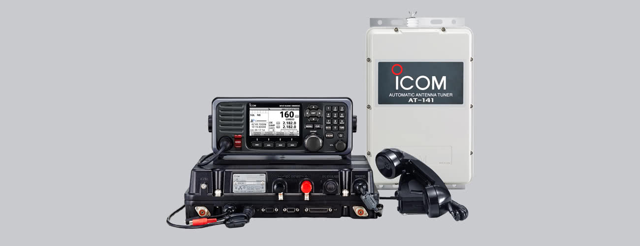 GM800 GMDSS MF/HF Transceiver with Class A DSC, New!