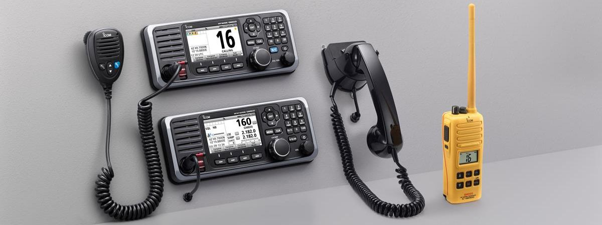 Overview of Icom's Latest Wheel Marked GMDSS Radio Solutions