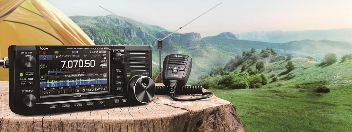 IC-705 QRP SDR Transceiver, Available Now!