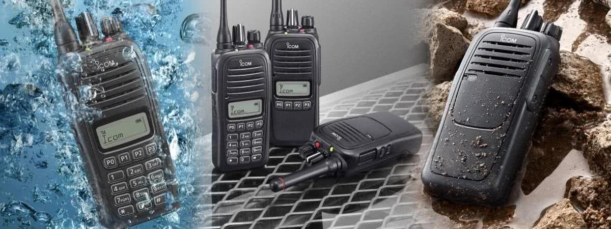 IC-F1000 Compact Two Way Business Handheld Radios