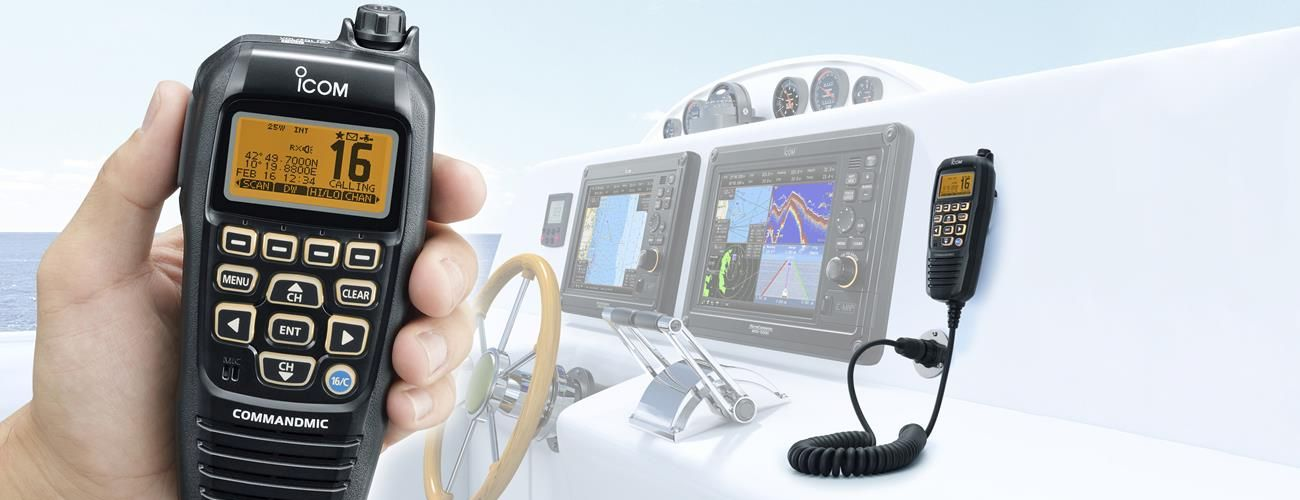 IC-M423G and IC-M400BB Fixed Marine VHF radios, Back by Popular Demand