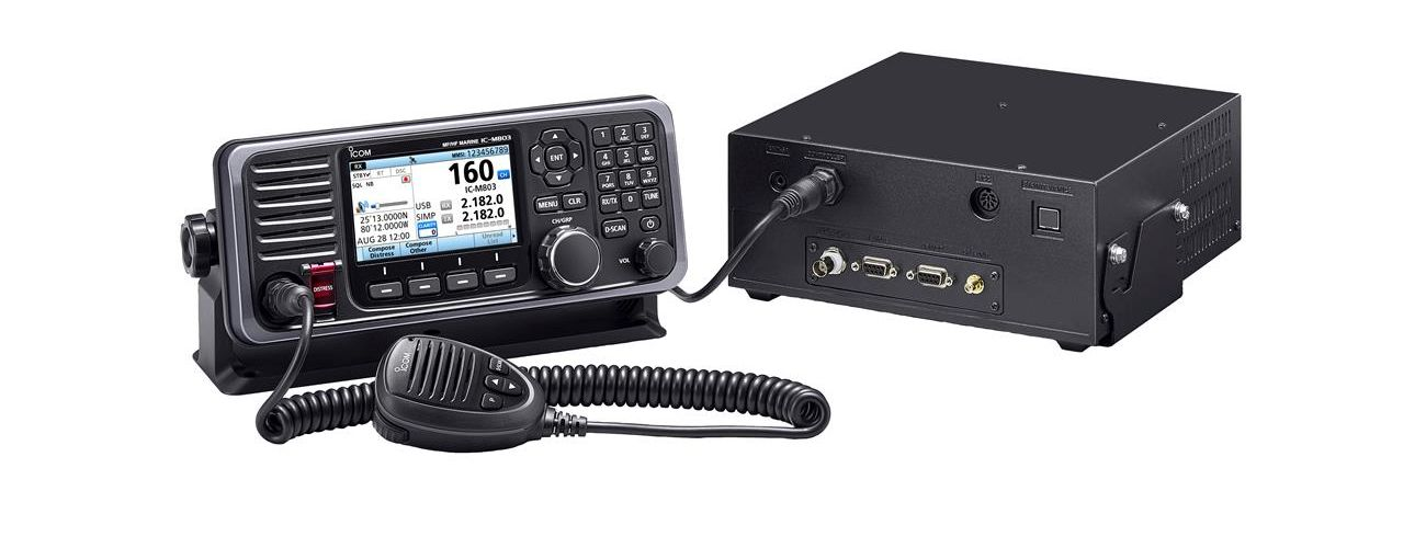 Introducing the Icom IC-M803 MF/HF/SSB Marine Radio