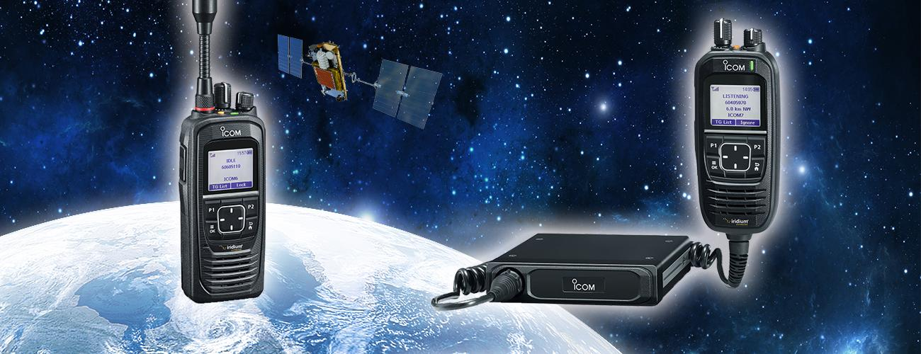 Dedicated Satellite Push-to-talk Radio Network