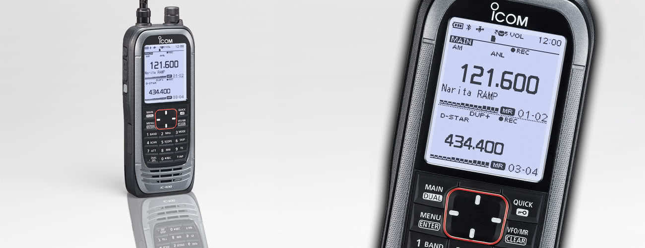 Introducing the Icom IC-R30 Digital/Analogue Wideband Communications Receiver