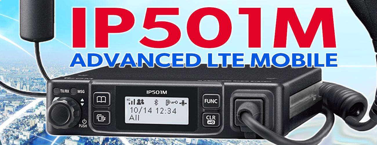Icom Launch IP501M LTE/PoC Mobile Radio For Commercial Vehicles