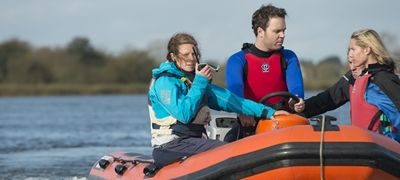 Brockenhurst College Use Icom Two Way Marine Radios For On the Water Training