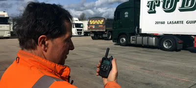 Independent Customs Clearance Company Chooses Icom LTE radio For Vehicle Management